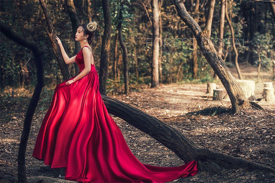 森系旅拍 婚纱照图片