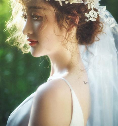 爱的故事 婚纱照