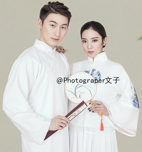 中国风 婚纱照