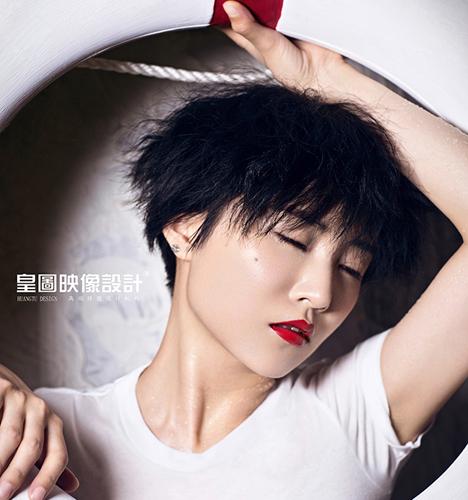 歌手吕雯 写真摄影