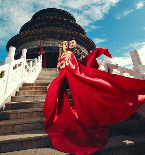 中国古风 婚纱照