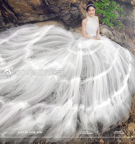 那片海 婚纱照