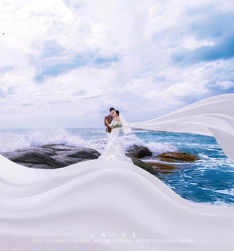 海阔天空 婚纱照