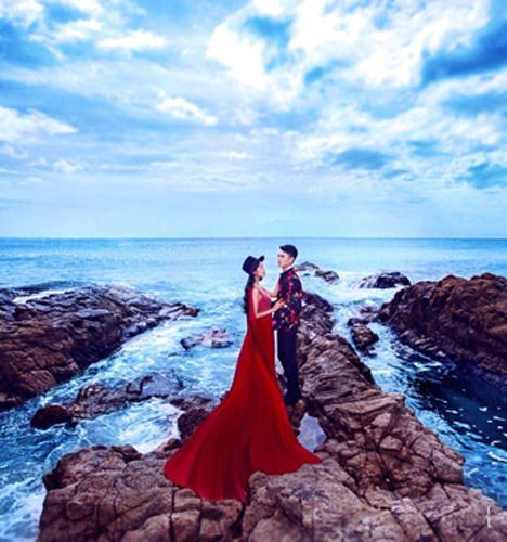 海枯石烂的爱情 婚纱照