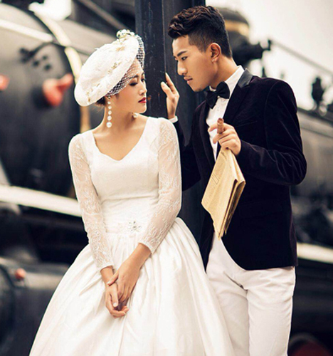 幸福的时光 婚纱照