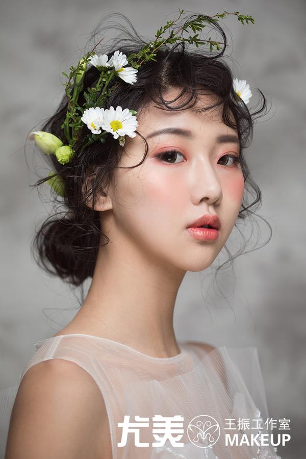花·裳 新娘造型欣赏图片