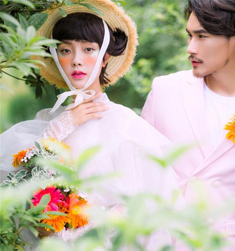 甜蜜花园 婚纱照