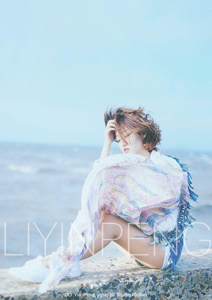 Sea breeze girl 写真摄影