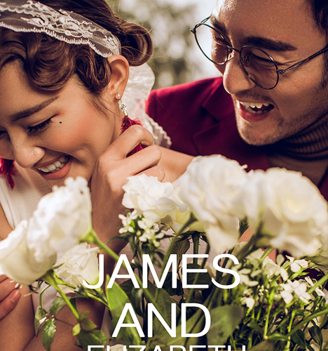 James AND Elizabeth 婚纱照