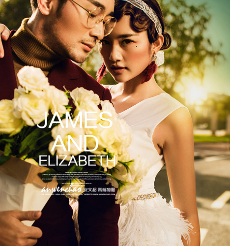 James AND Elizabeth NO.2 婚纱照
