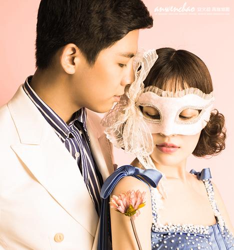 Mask 婚纱照
