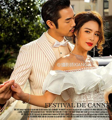 法式爱情 婚纱照