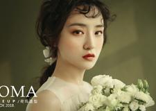 油画少女风新娘造型欣赏
