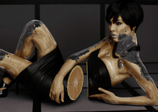 Marcus Glover碎裂人体艺术数码合成作品
