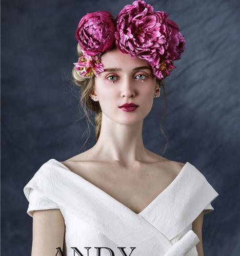 鲜花新娘造型 化妆造型
