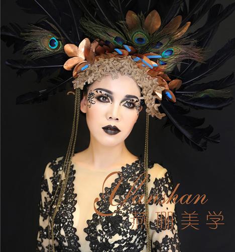 欧美时尚T台创意妆 化妆造型