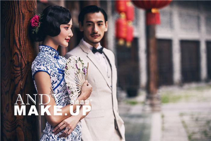 新式旅拍造型 婚纱照