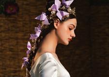 轻奢复古风新娘造型 演绎别具风格的时尚盛宴