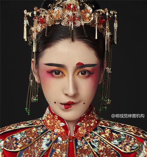 民族风造型 化妆造型