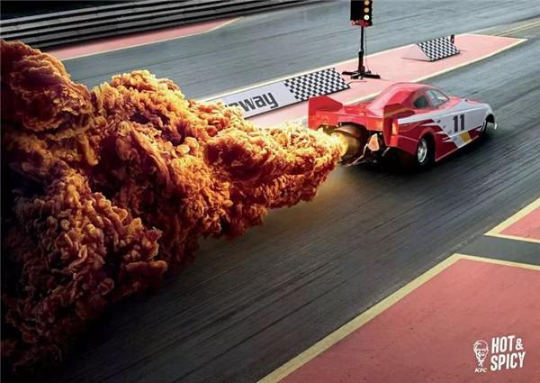 创意广告影像:以为是大爆炸,原來是 KFC 炸鸡
