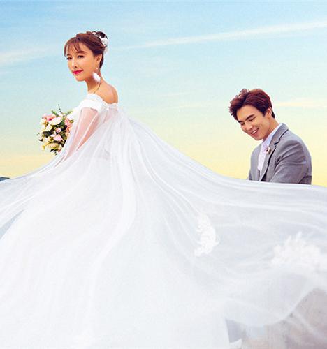 最美的景色 婚纱照