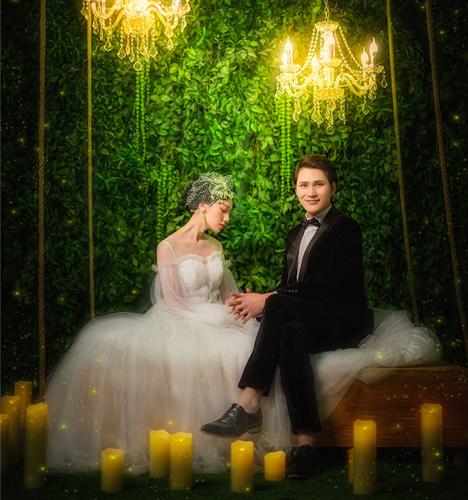 梦幻系 婚纱照