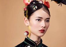 新中式古典新娘造型 营造东方的温婉神秘