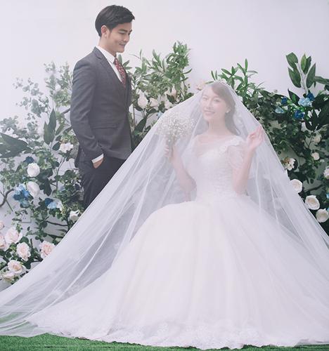 韩式内景 婚纱照