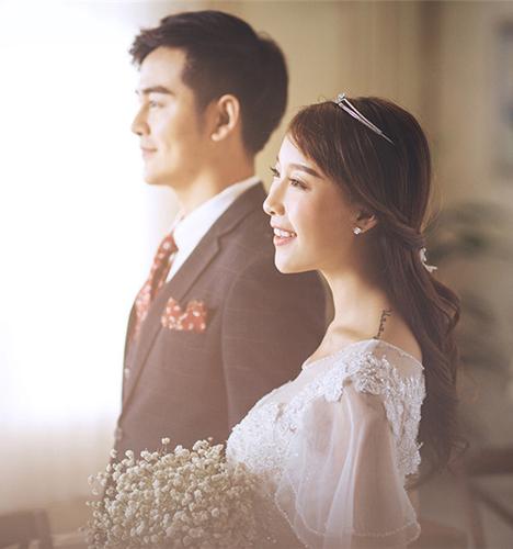 韩式风情 婚纱照