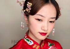 端庄大方的中式新娘造型