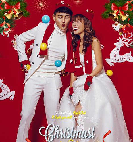 圣诞快乐 婚纱照