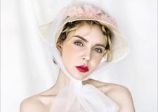 欧式复古帽纱新娘造型