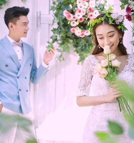 樱花季 婚纱照