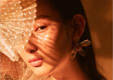 光 未来感创意妆容造型欣赏