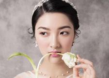 韩式小清新新娘造型欣赏