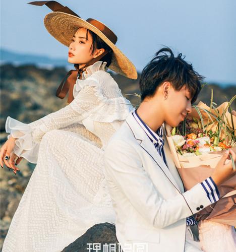 海岸风情 婚纱照