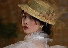 复古田园风新娘造型 演绎别样绝美范