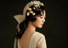 最新影楼资讯新闻-复古油画风新娘造型欣赏