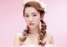 麻花辫新娘发型 彰显你的少女情怀