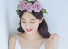 简约风 通透自然的新娘妆容