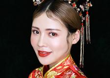 实用中式造型 衬托出东方新娘的独特气质