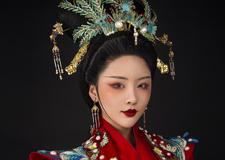 中式古装新娘造型 完美衬托东方新娘的独特气质