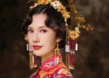 创意中式新娘造型 彰显古典文化的韵味