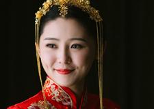 中国风古装新娘妆容造型