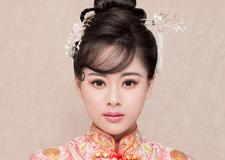 最新影楼资讯新闻-豆蔻 清新减龄中式新娘造型