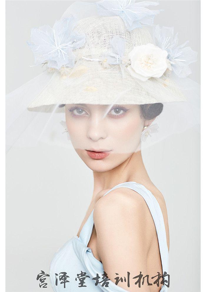 唯美新娘妆面造型图片