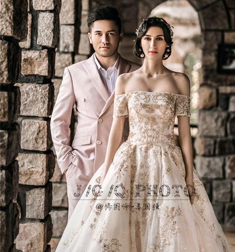 城堡系列 婚纱照