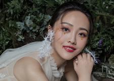 清新脱俗的仙女范新娘造型