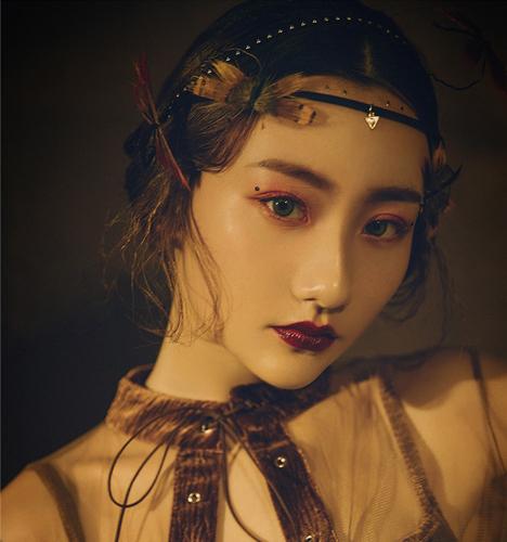 复古优雅 化妆造型