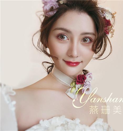 唯美新娘范 化妆造型